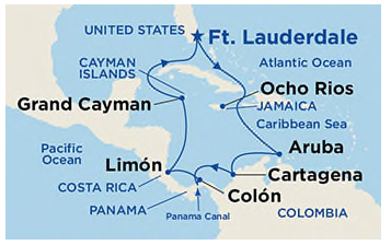 Florida to Panama Canal & Places In Between!
