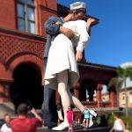 Statue inspired by World War 11 Era Photo